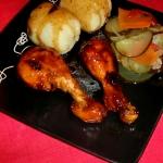Palki z kurczaka w miodow...