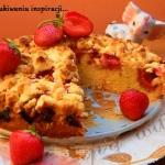 Ciasto ucierane z truskaw...