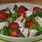 Salatka z roszponki, trus...