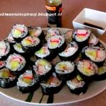 Sushi maki z ogórkiem i...