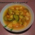 Azjatycka zupa bananowa