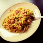 Żółty ryż z jajkiem...
