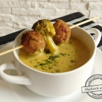 Zupa krem z brokułu z...