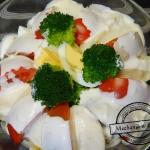 Salatka w kolorach Italii...