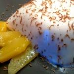 Panna cotta z mango