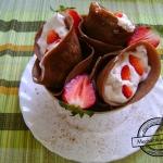 Kakaowo truskawkowe...
