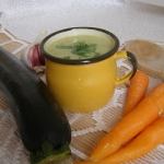 Zupa-krem z cukinii :)
