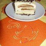 Serowe ciasto z...