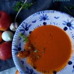 Zupa z pieczonych pomidor...
