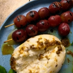 Burrata z grillowanymi...