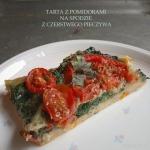Tarta z pomidorami na...