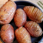 Ziemniaki Hasselback...