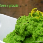 Puree z groszku