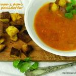 Zupa z dyni i pomidorów...