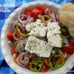 Grecka sałatka Horiatiki