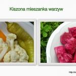 Kiszona mieszanka warzyw