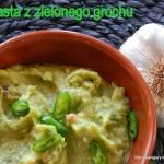 Pasta z zielonego grochu