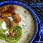 Zupa kalafiorowa z...