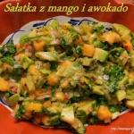 Sałatka z mango i...