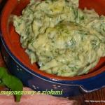 Sos majonezowy z ziołami