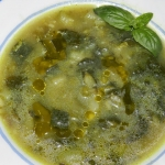zielona zupa minestrone...