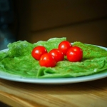 Zielone naleśniki