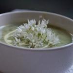 Zupa z dzikiego czosnku