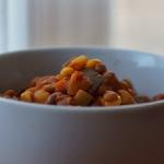 Warzywne chilli z fasolą