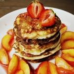 Serowo-bananowe pancakes...