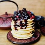Manno-owsiane pancakes z...