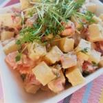 Wielkanocna salatka serow...