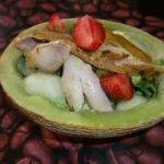 Salatka fit z kurczakiem