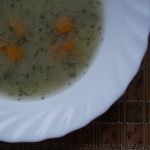 Zupa koperkowa z grysikie...