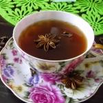 Herbata z anyżem