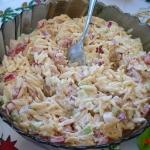 Salatka z makaronem ryzow...