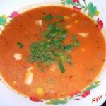 Pomidorowa z  kukurydza