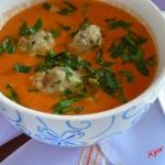 Zupa krem pomidorowo - pa...