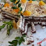 Wykwintny tort z masą ...
