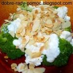 Sałatka z brokułem,...