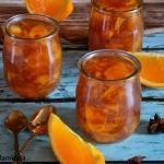 Herbaciany kisiel pomaran...