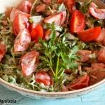 Salatka pomidorowa z ruko...