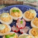 Jajka faszerowane...