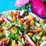 Salatka z karmelizowana g...