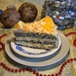 Tort makowo - budyniowy