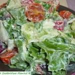 Sałatka z sosem :-)