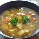 Zupa z młodej kapusty...