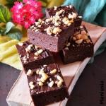 Brownie z kasza jaglana