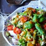 Salatka makaronowa z bobe...