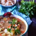 Zupa fasolowo cebulowa