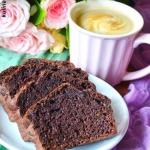 Czekoladowe ciasto z cuki...